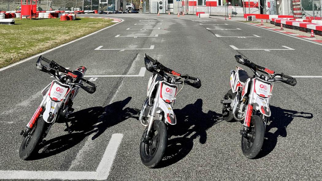 Noleggio pitbike pista ronco Genova Milano mini moto motard